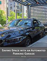 Saving Space with an Automated Parking Garage
