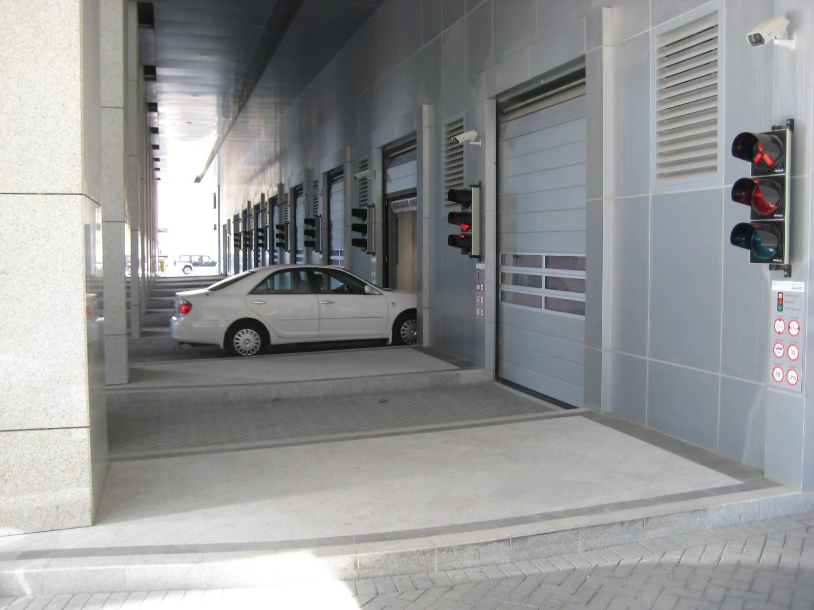 Conrad Hotel, Dubai   Automated Parking System