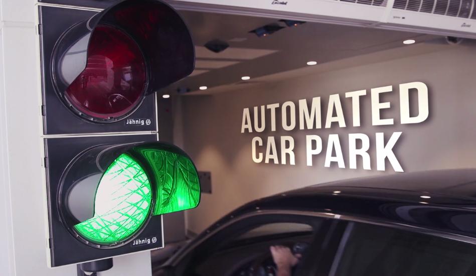 Westfalia Automated Car Park System at Conrad Dubai